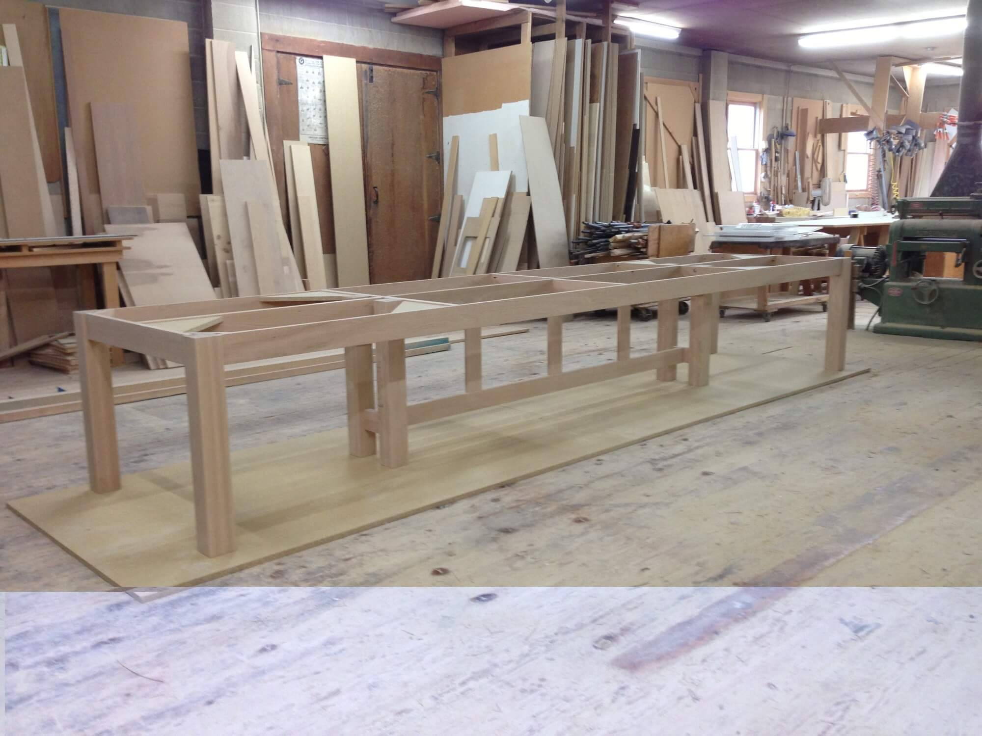 Early Cabinet Frame Construction