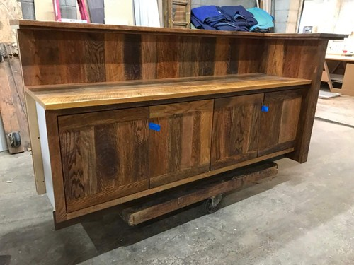 Cabinet with Fresh Stain