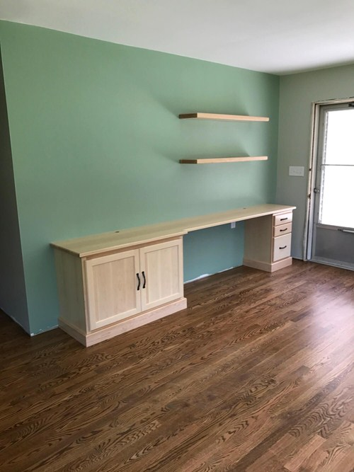 Cabinets in Living Room