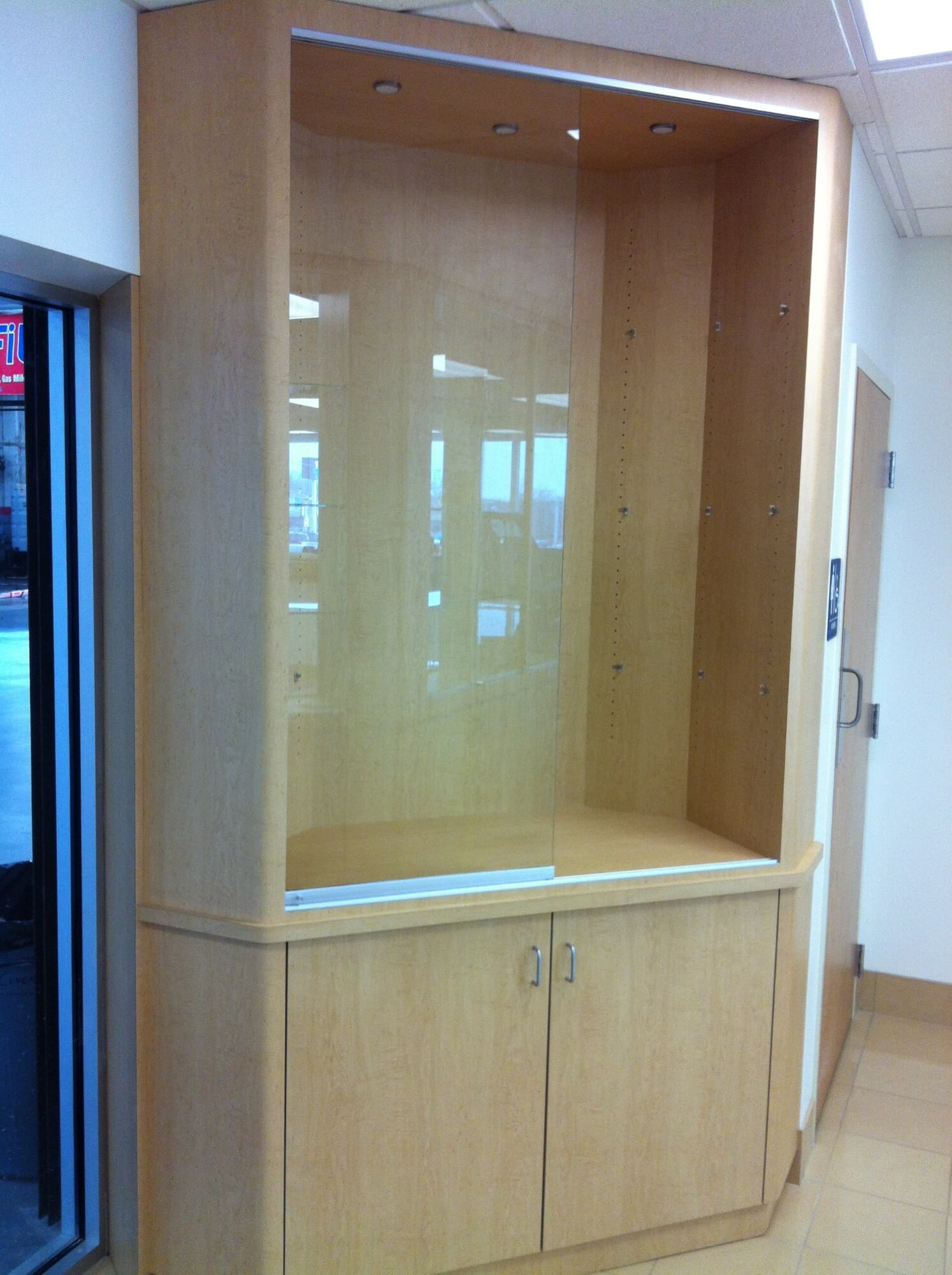 Glass Commercial Cabinet