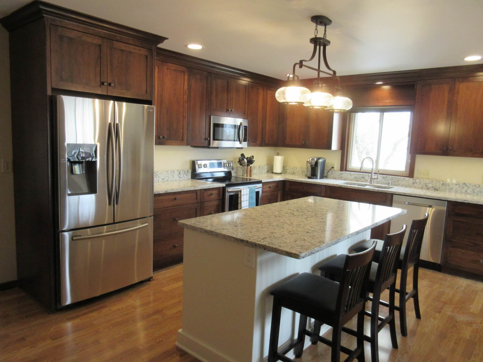 Kitchen Cabinet Island Installation