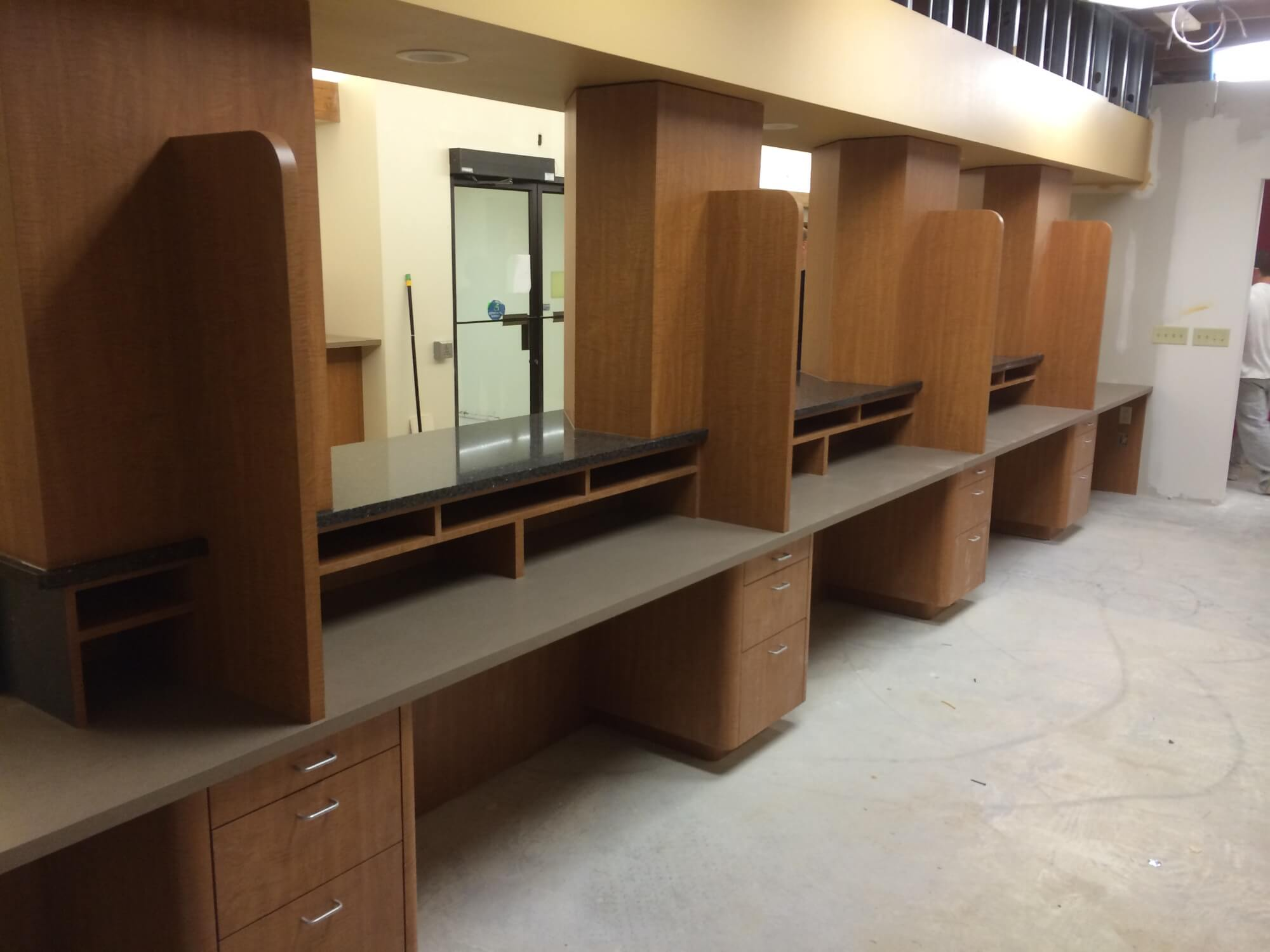 Waiting Area Cabinets
